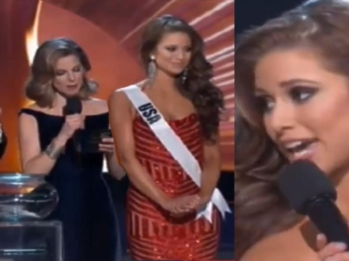 Nia Sanchez o terroryzmie. Miss USA na Miss Universe