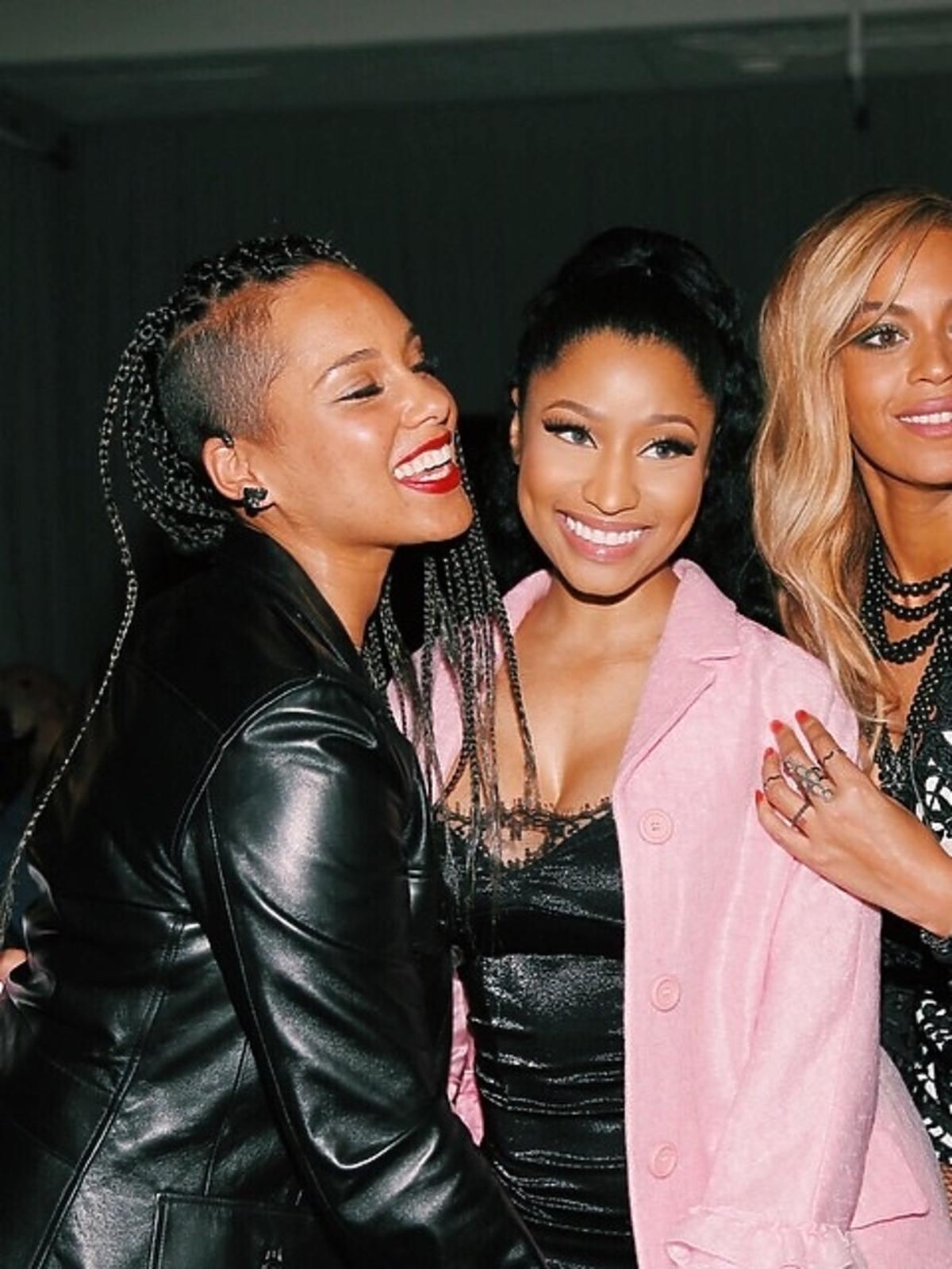 Nicki Minaj, Beyonce i Alicia Keys na premierze seriwsu TIDAL
