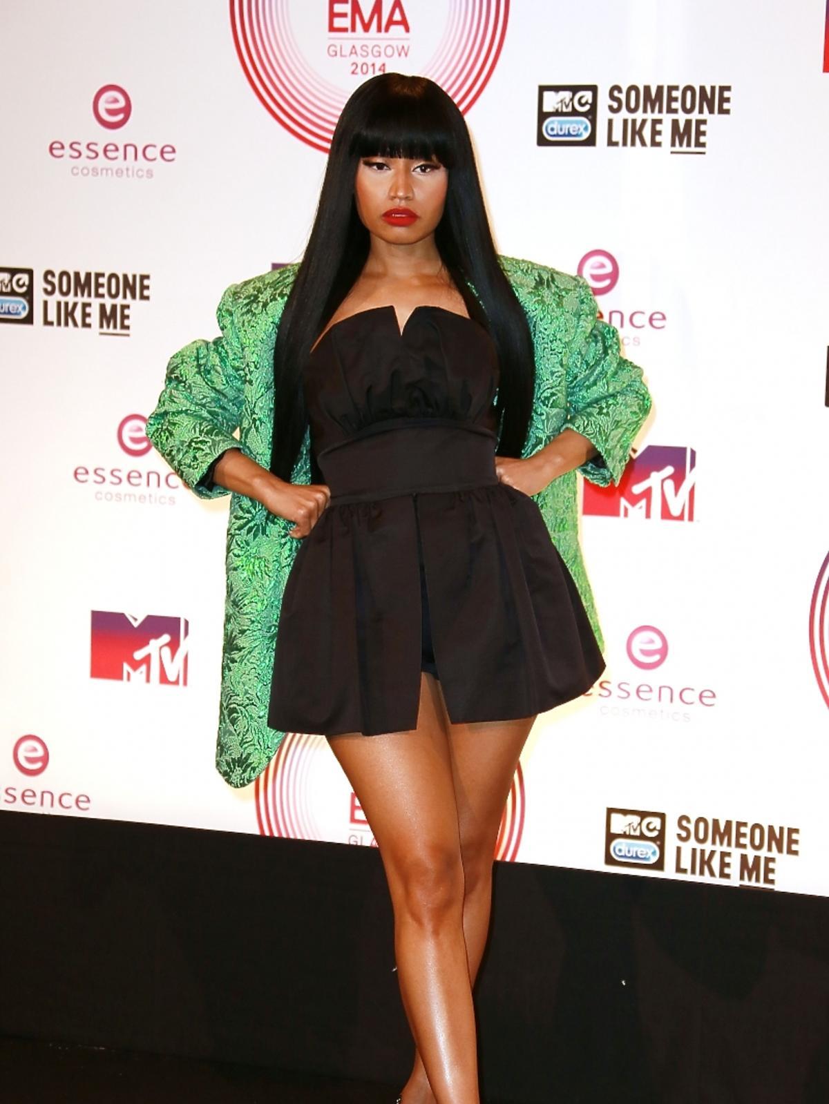Nicki Minaj na MTV EMA 2014 w Glasgow