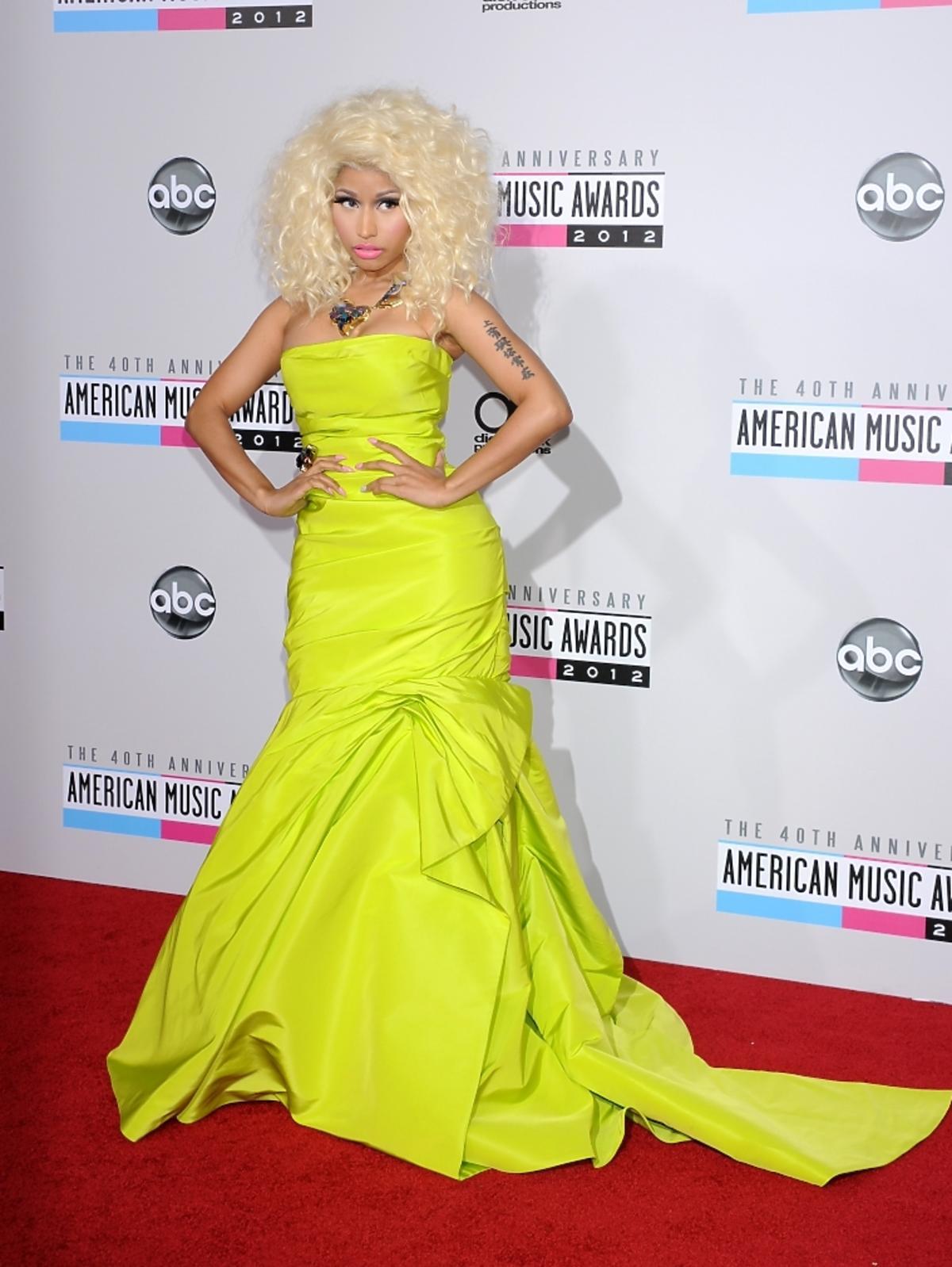 Nicki Minaj na rozdaniu nagród American Music Awards