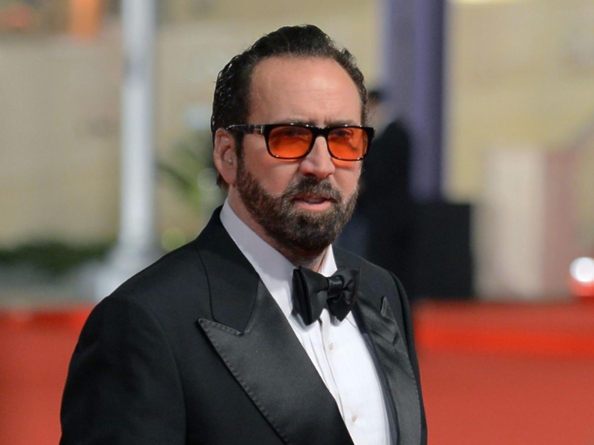 Nicolas Cage czerwony dywan