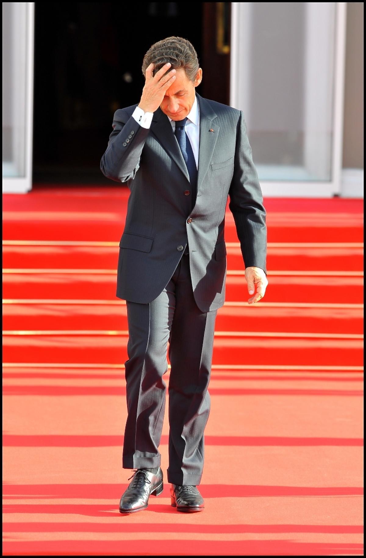 Nicolas Sarkozy zatrzymany przez policję