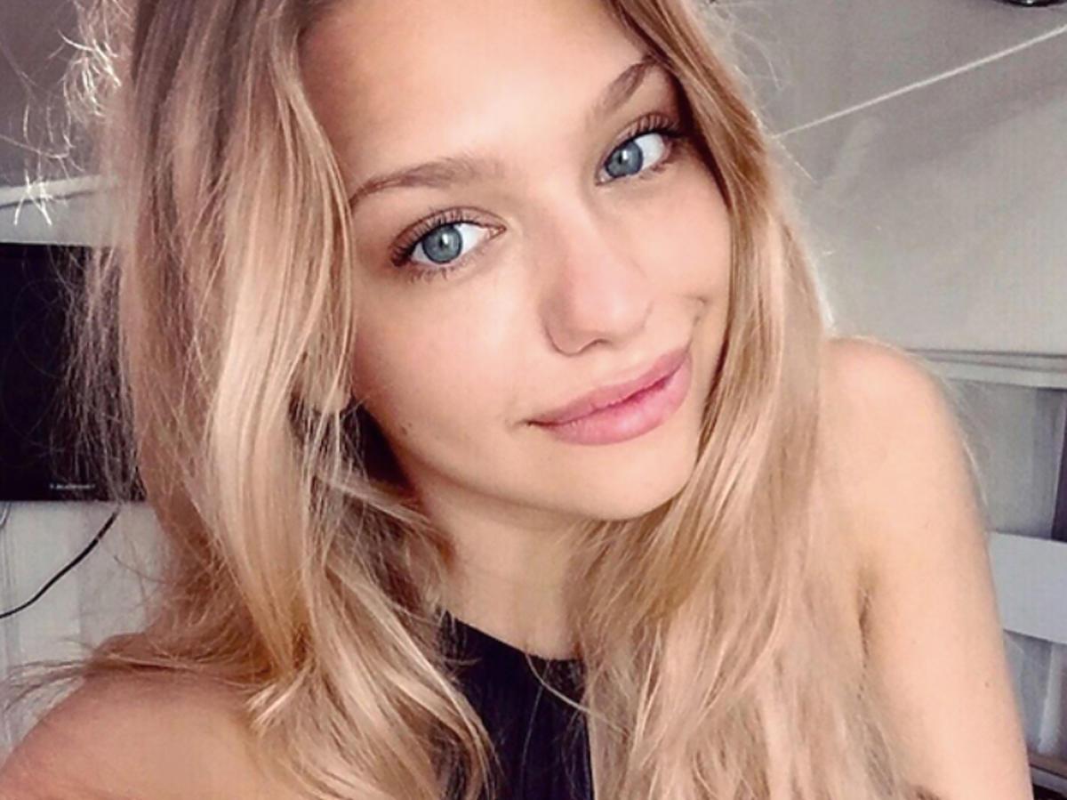 Nicole Bogdanowicz w długich włosach