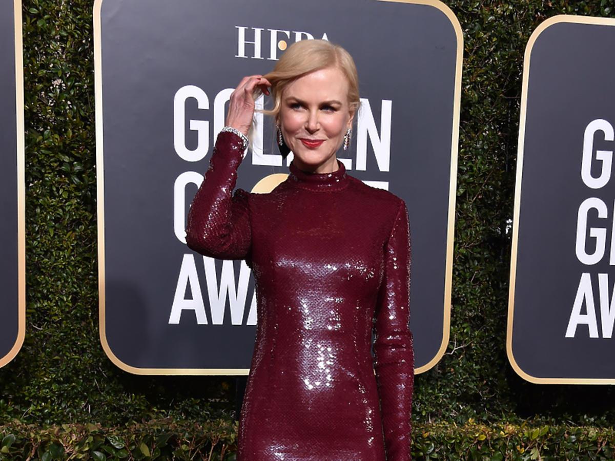 Nicole Kidman na gali Złote Globy 2019