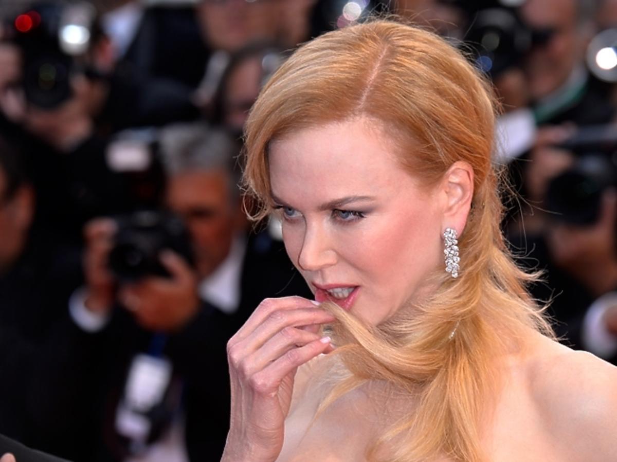 Nicole Kidman na premierze Grace of Monaco na Festiwalu w Cannes 2014