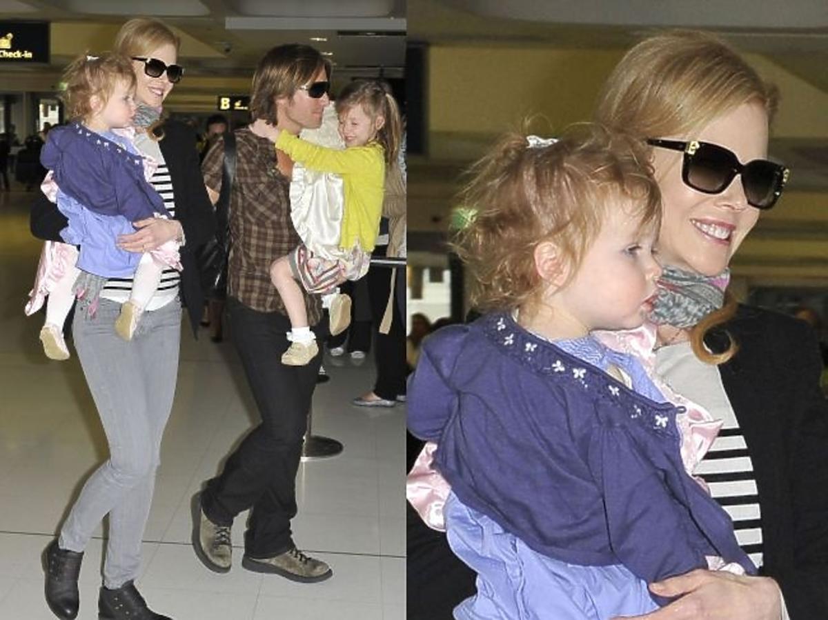 Nicole Kidman z rodziną na zakupach