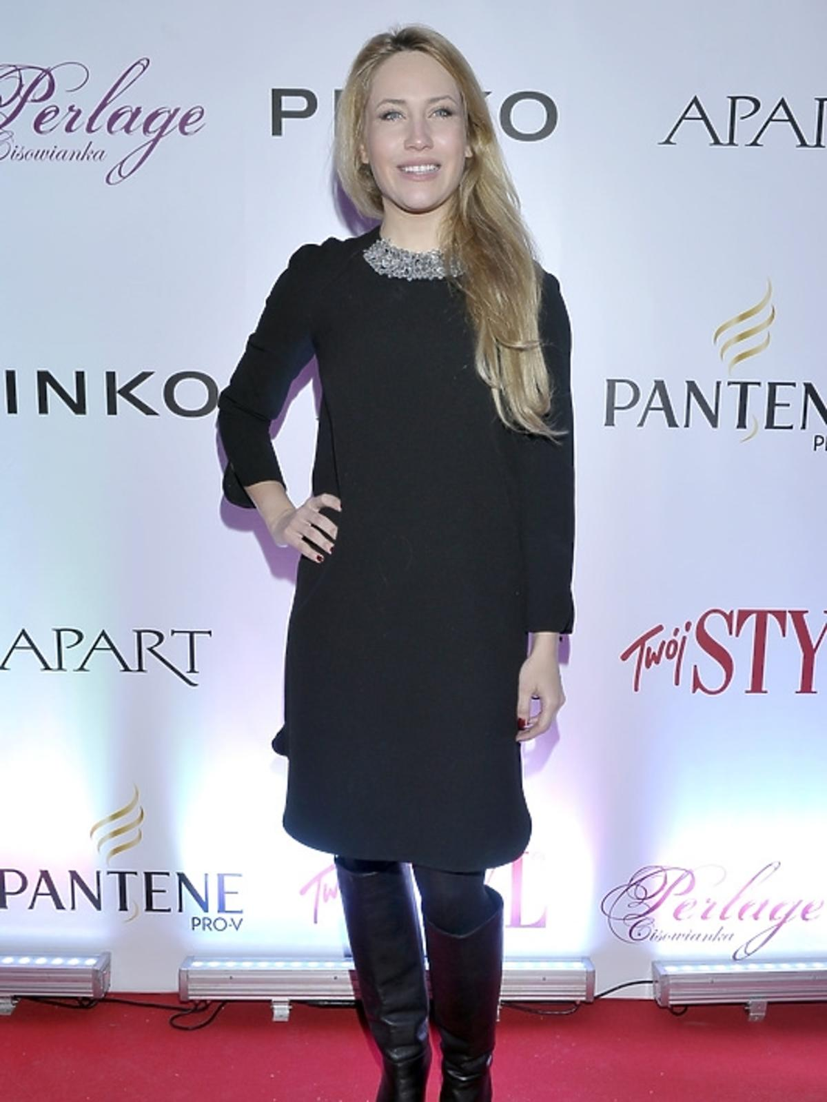 Nicole Soszyńska na gali Doskonałość Mody 2012
