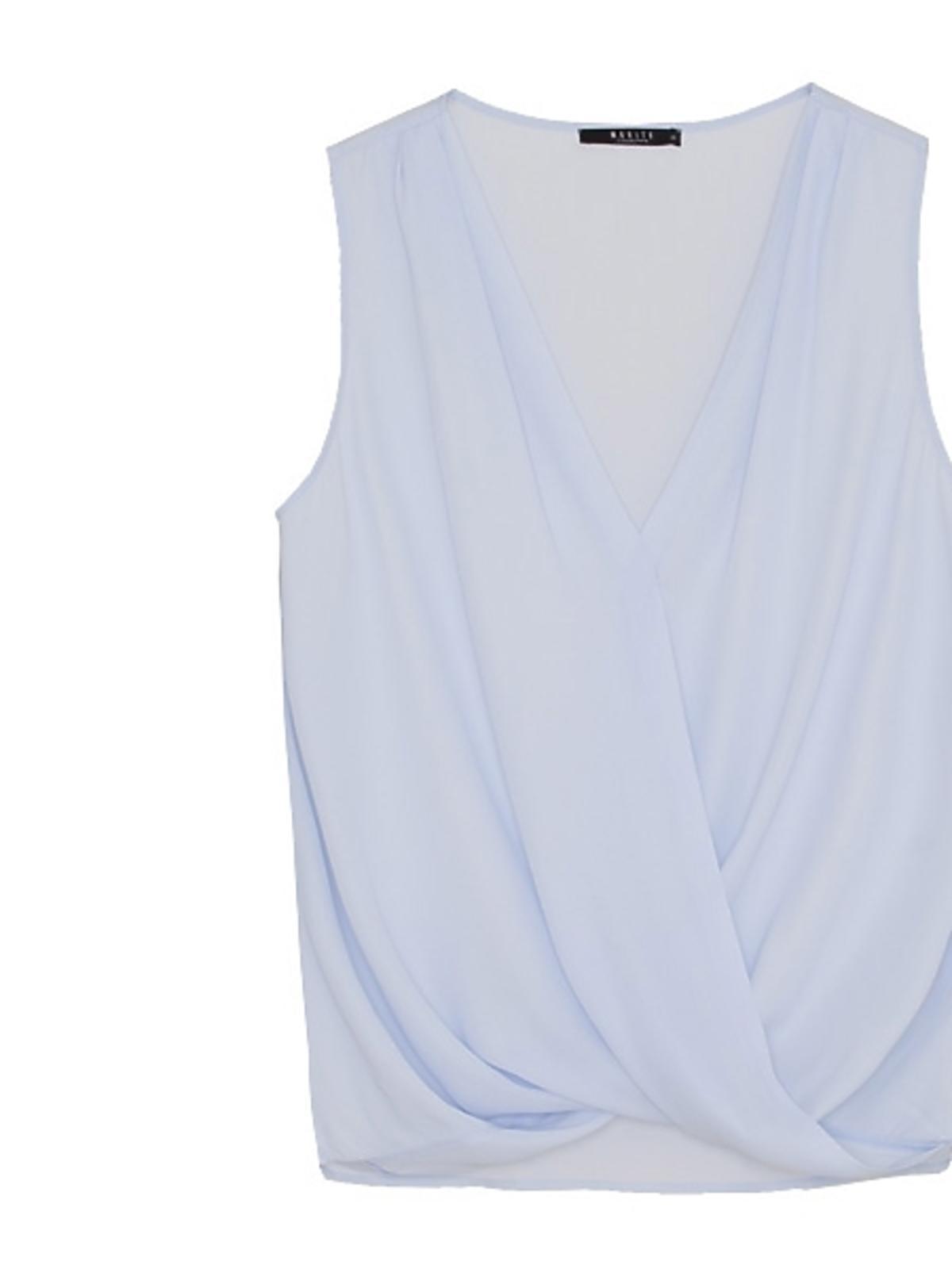 Niebieska bluzka Mohito, cena