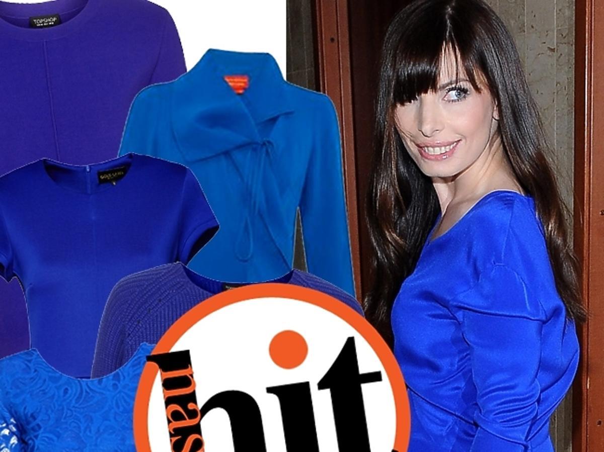 Niebieskie ubrania i dodatki