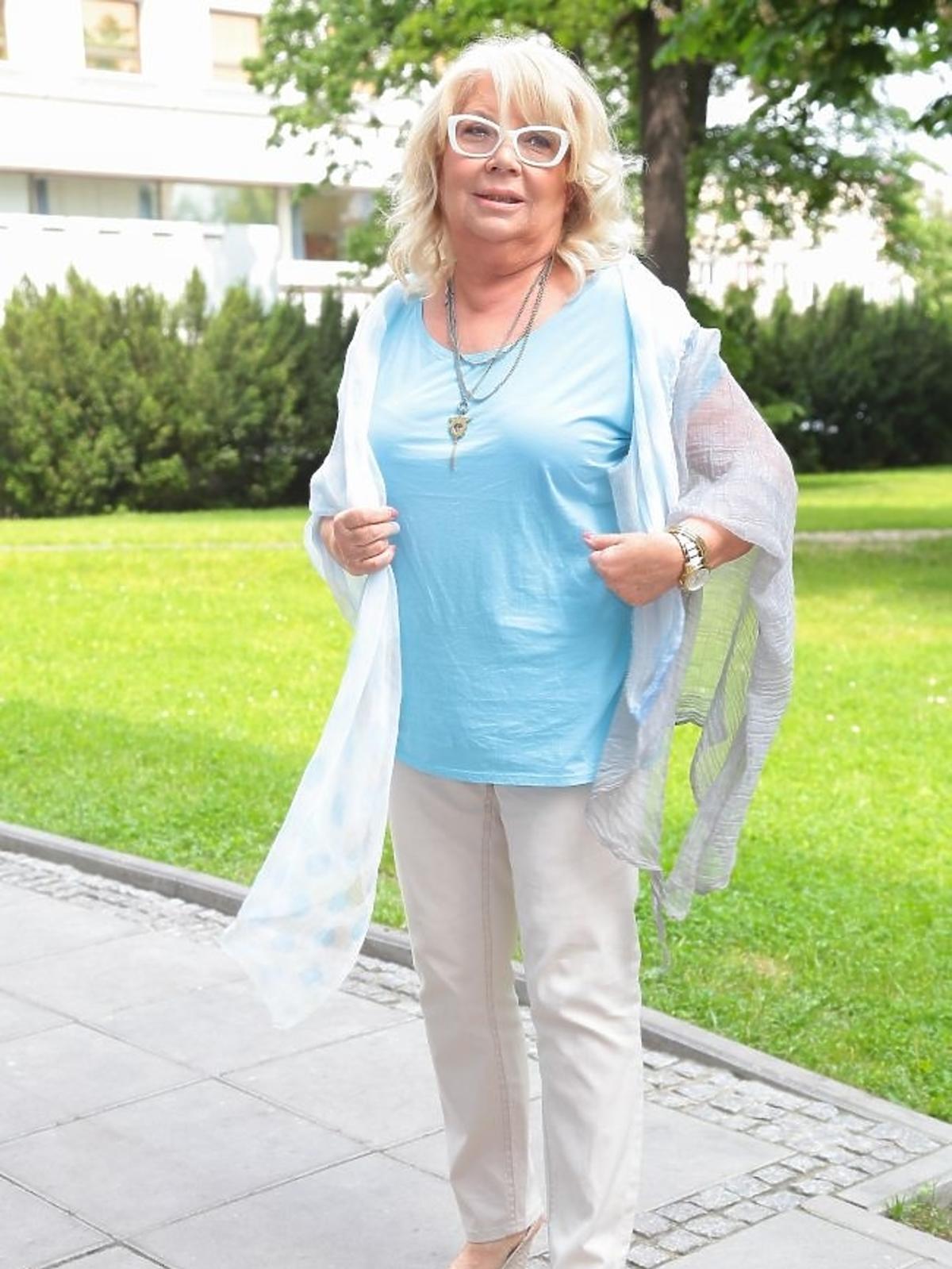Nina Terentiew na premierze książki Bożeny Jarnot