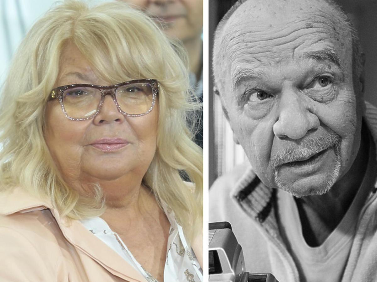 Nina Terentiew żegna Ryszarda Kotysa, serialowego Paździocha