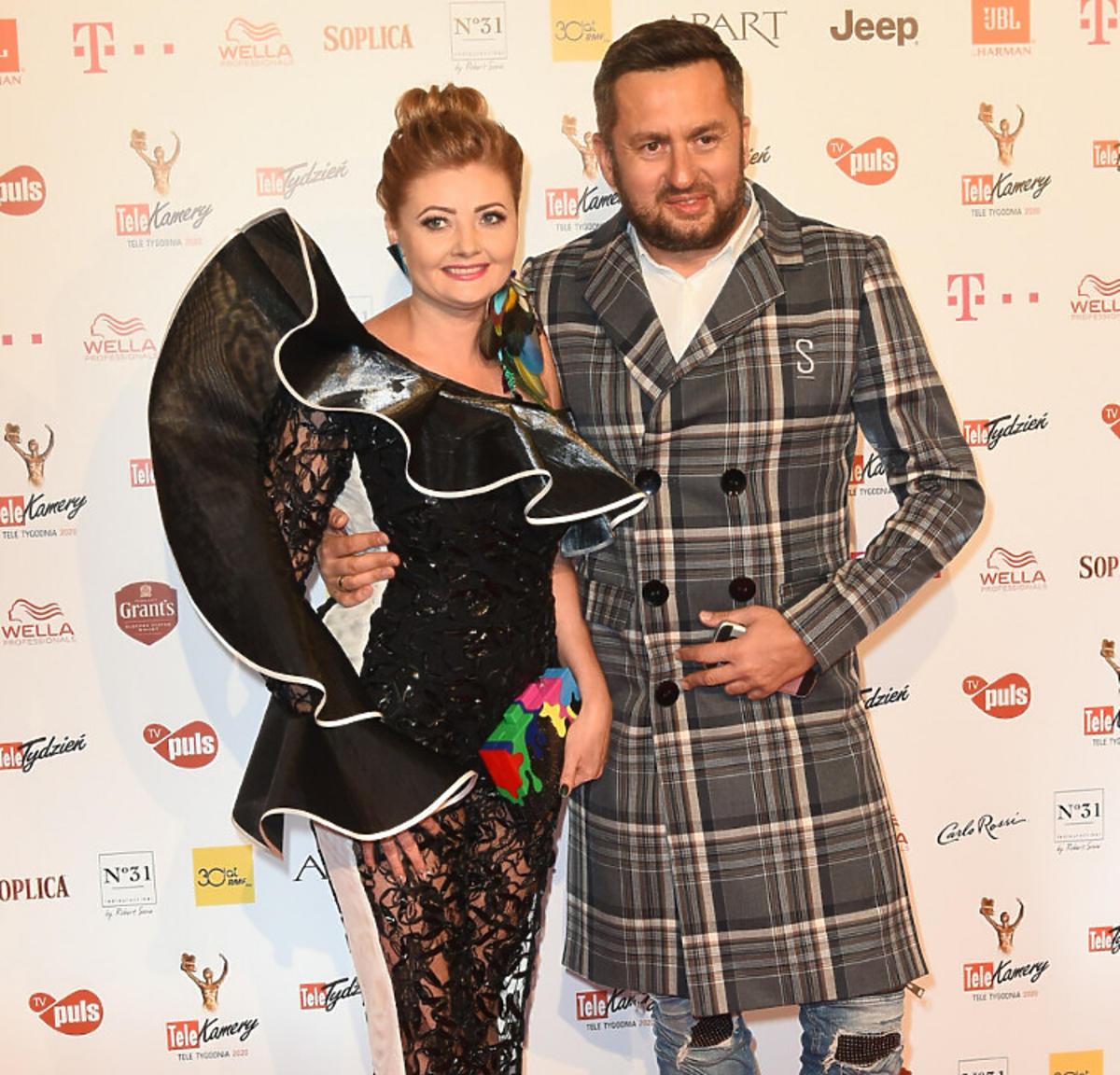 Norbi z żoną na Telekamerach 2020