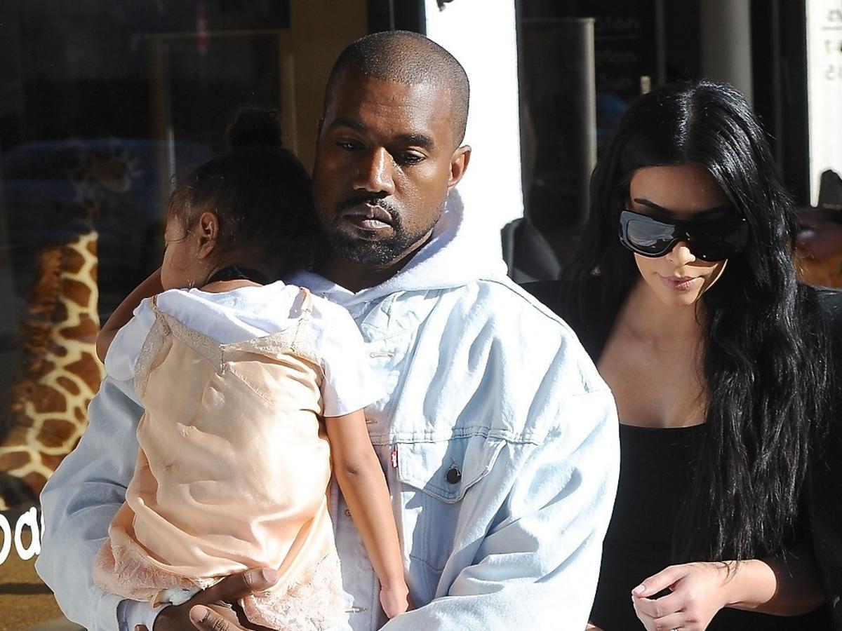 North West, Kanye West, Kim Kardashian