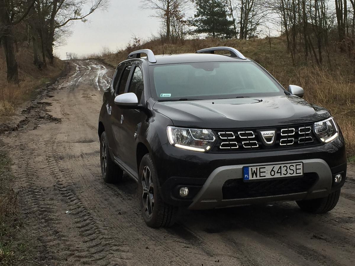 Nowa Dacia Duster w rajdzie Nieznane Mazowsze