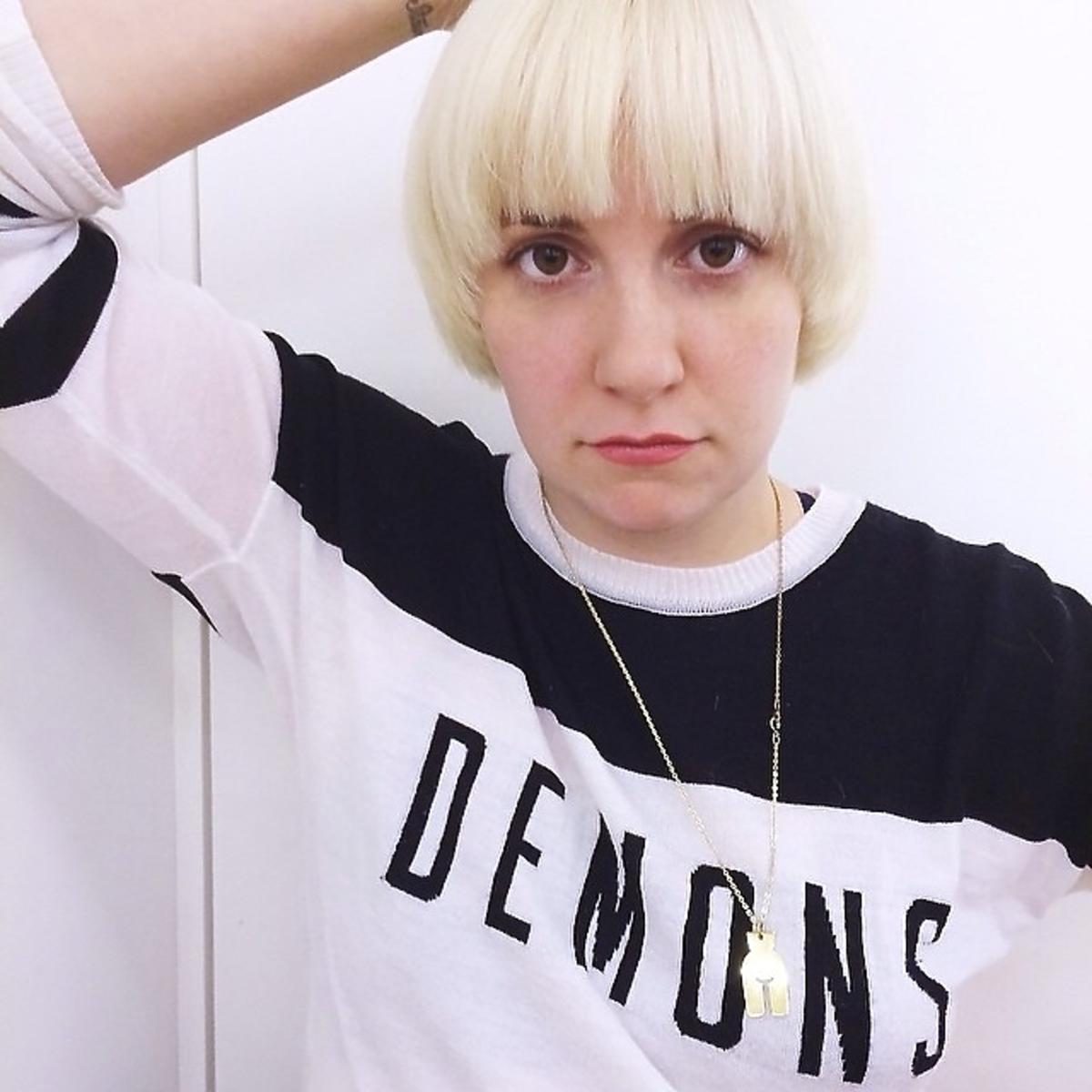 Nowa fryzura Leny Dunham