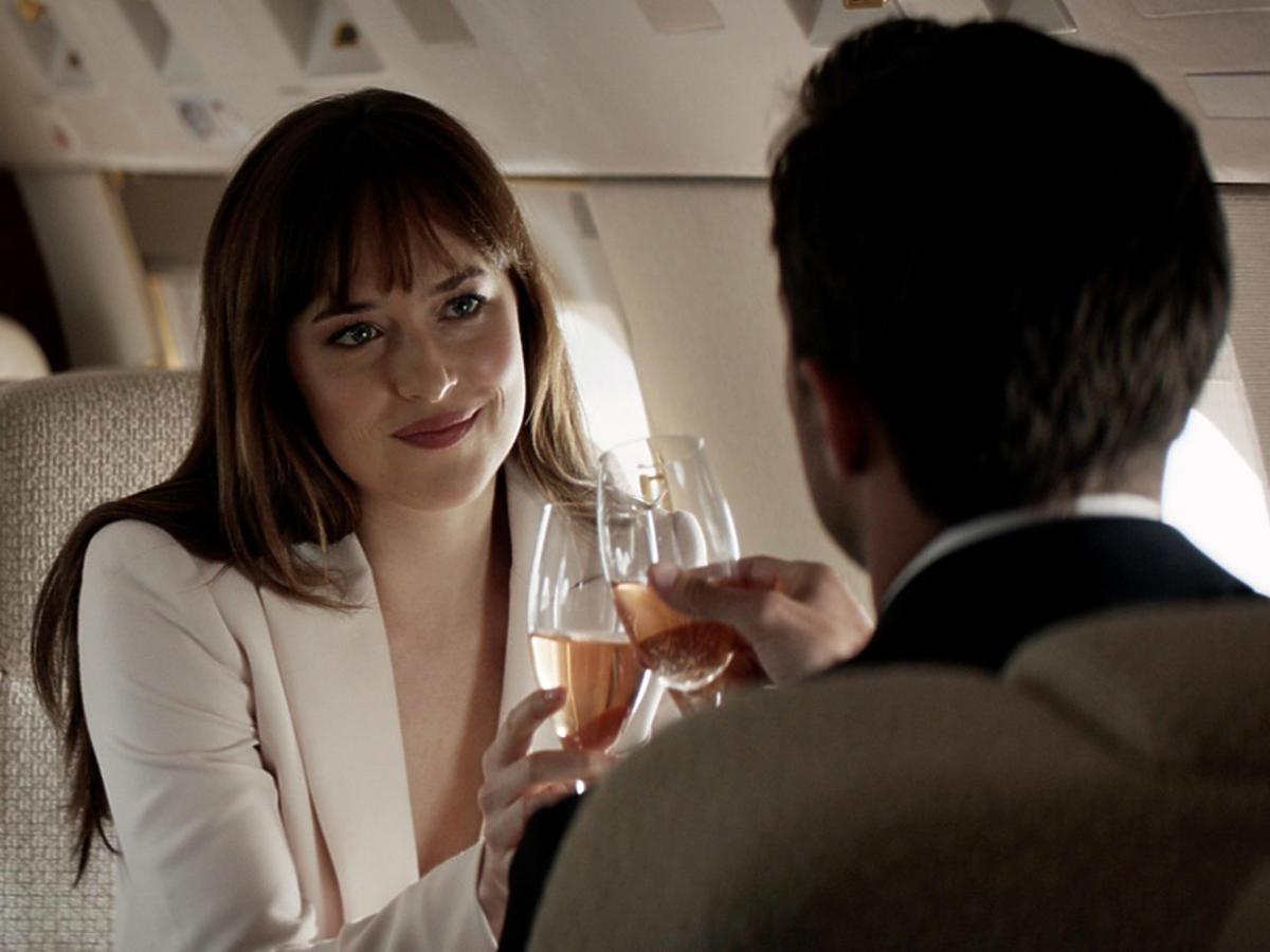 Nowe oblicze Greya - Dakota Johnson na planie filmu Nowe oblicze Greya
