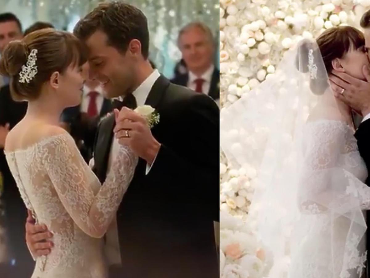 Nowe oblicze Greya - ślub Any i Christiana