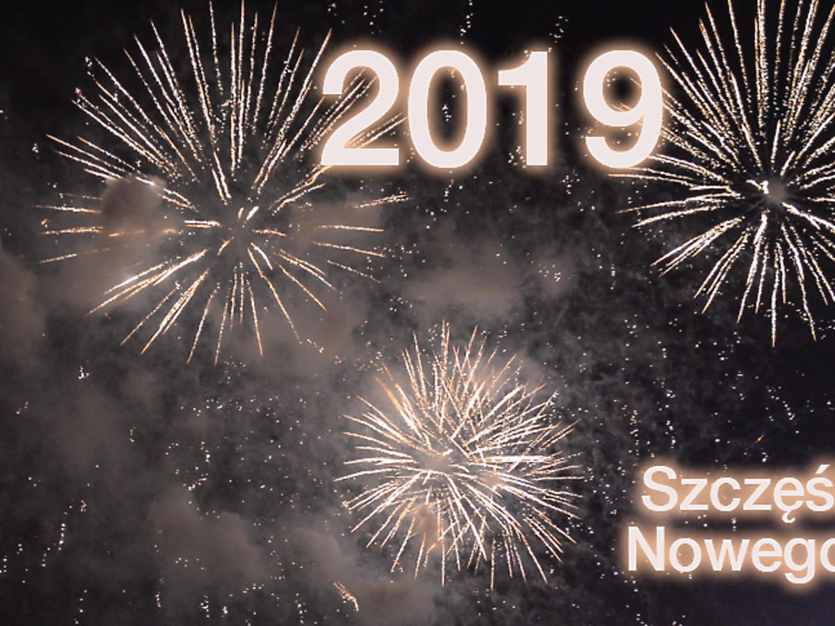 Nowy rok, sylwester 2019