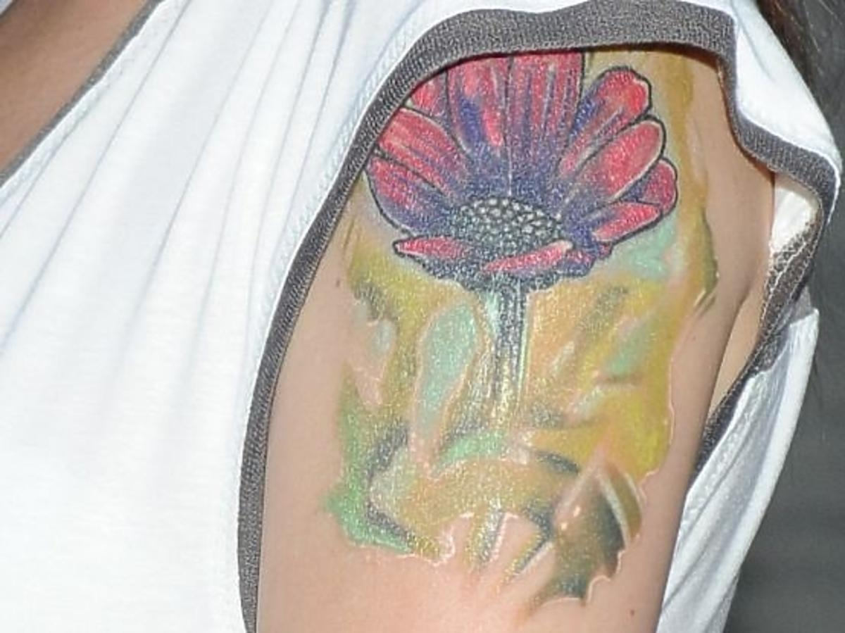 Nowy tatuaż Magdy Femme