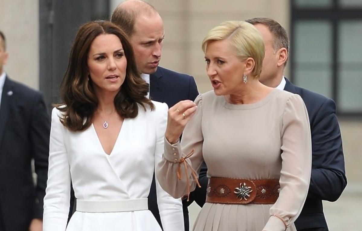 O czym rozmawiali William i Kate z Andrzejem Dudą? Zobaczcie WIDEO z ich spotkania!