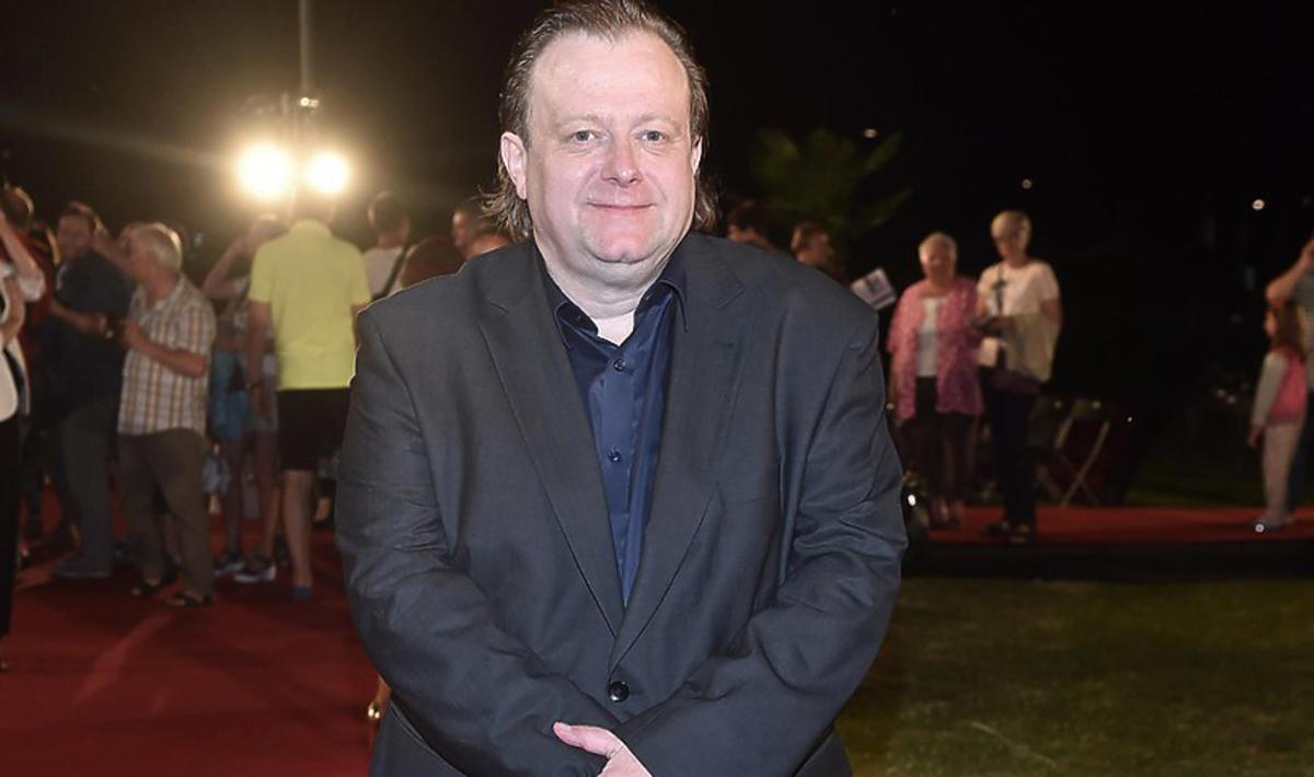 Odchudzony Olaf Lubaszenko na festiwalu w Międzyzdrojach