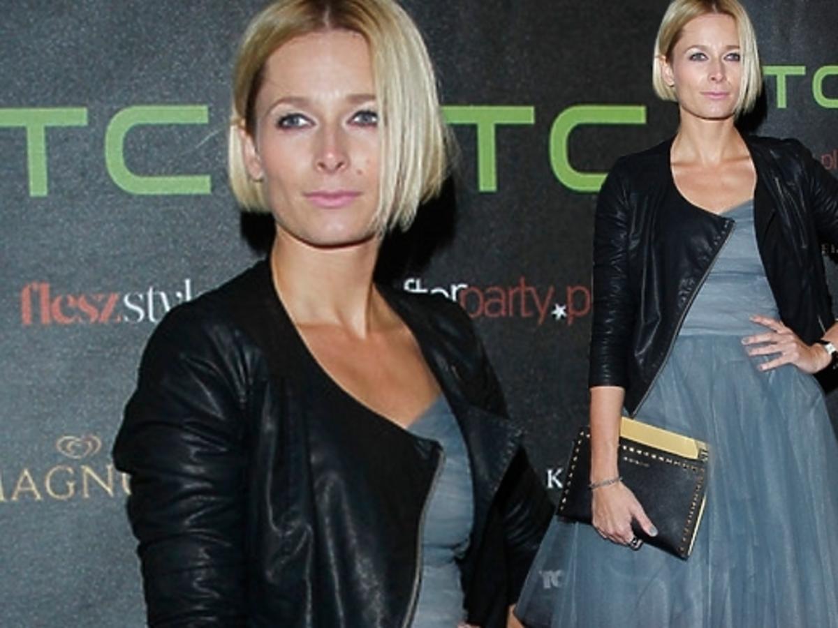 Odeta Moro-Figurska na Flesz Fashion Night w Muzeum Narodowym
