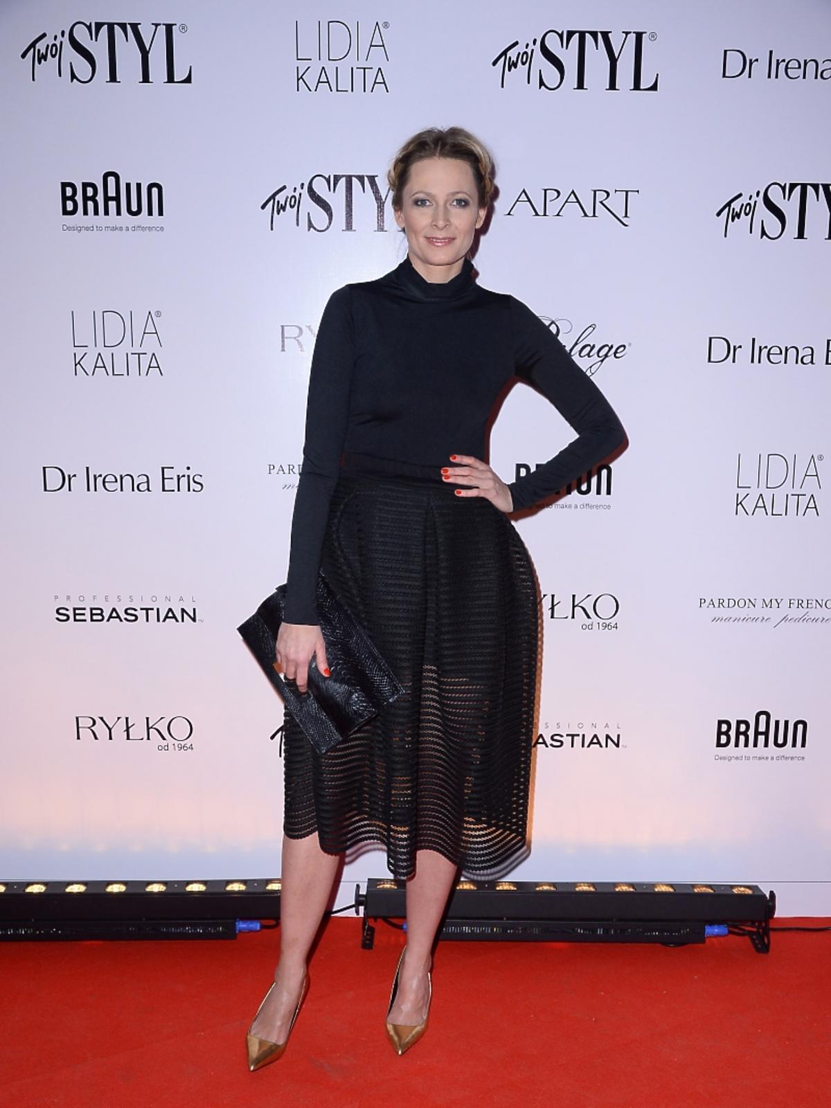 Odeta Moro na imprezie Doskonałość Mody Twojego Stylu