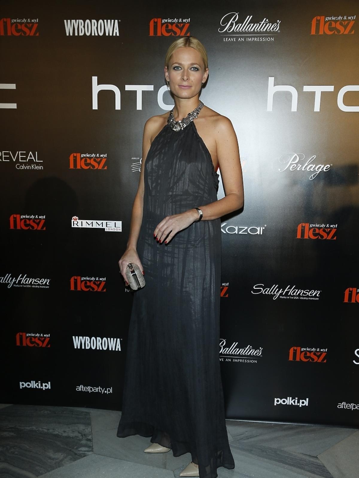 Odeta Moro na imprezie Flesz Fashion Night