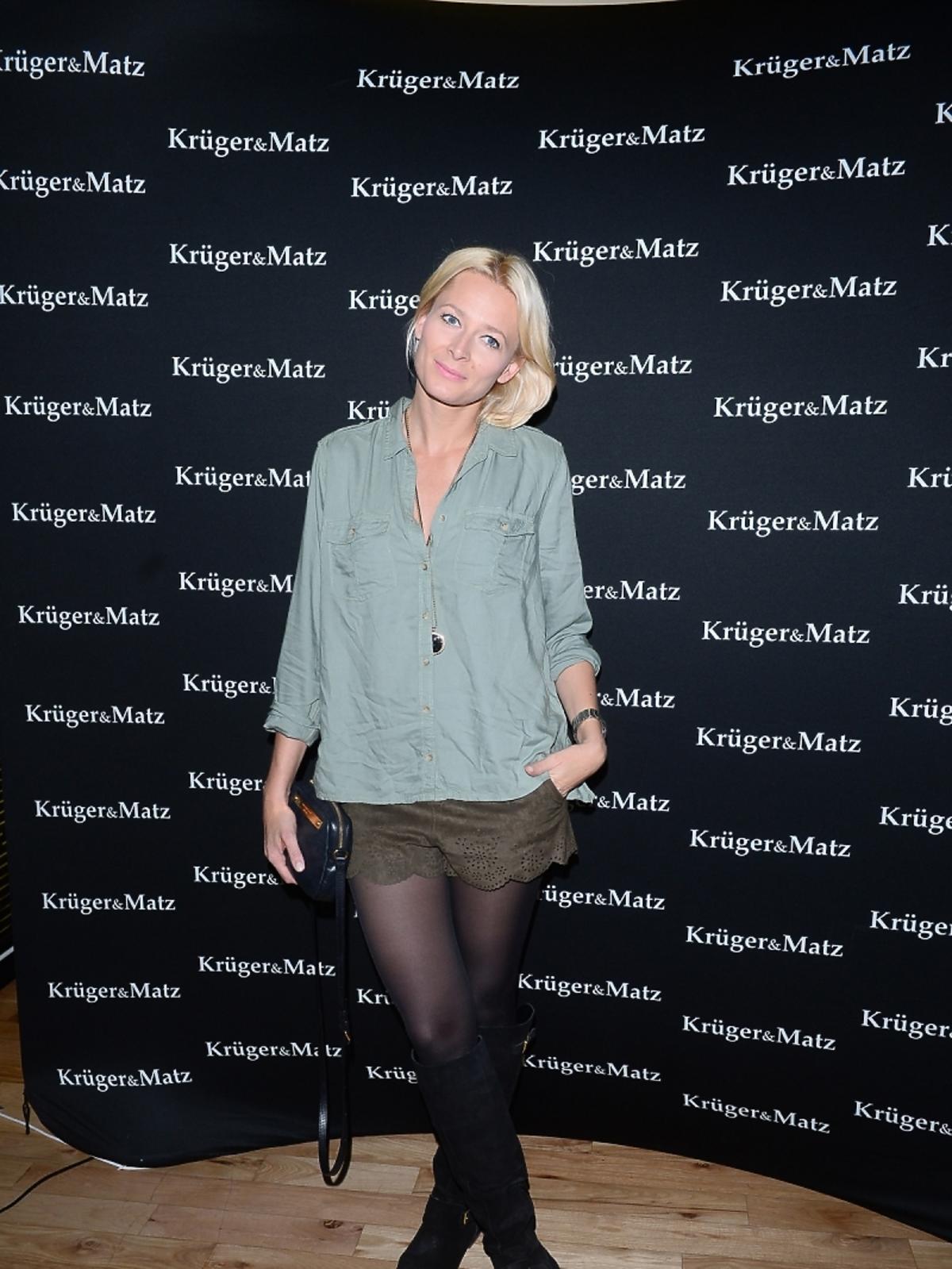 Odeta Moro na imprezie marki Kruger&Matz