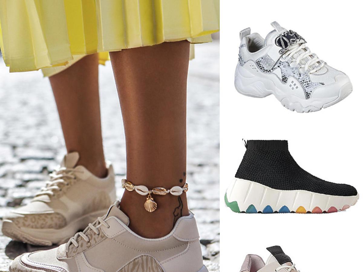 Odjechane sneakersy na wiosnę 2020