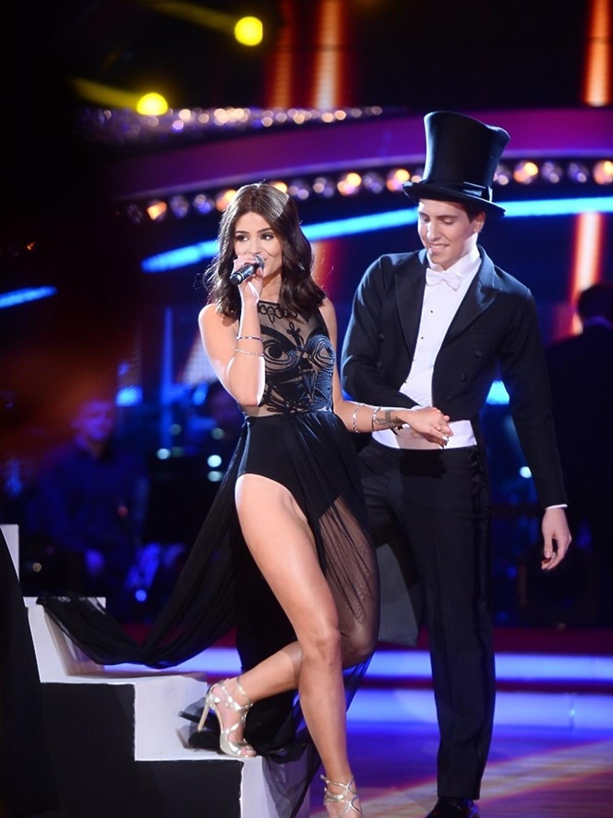 Odważna sukienka Honoraty Skarbek w półfinale