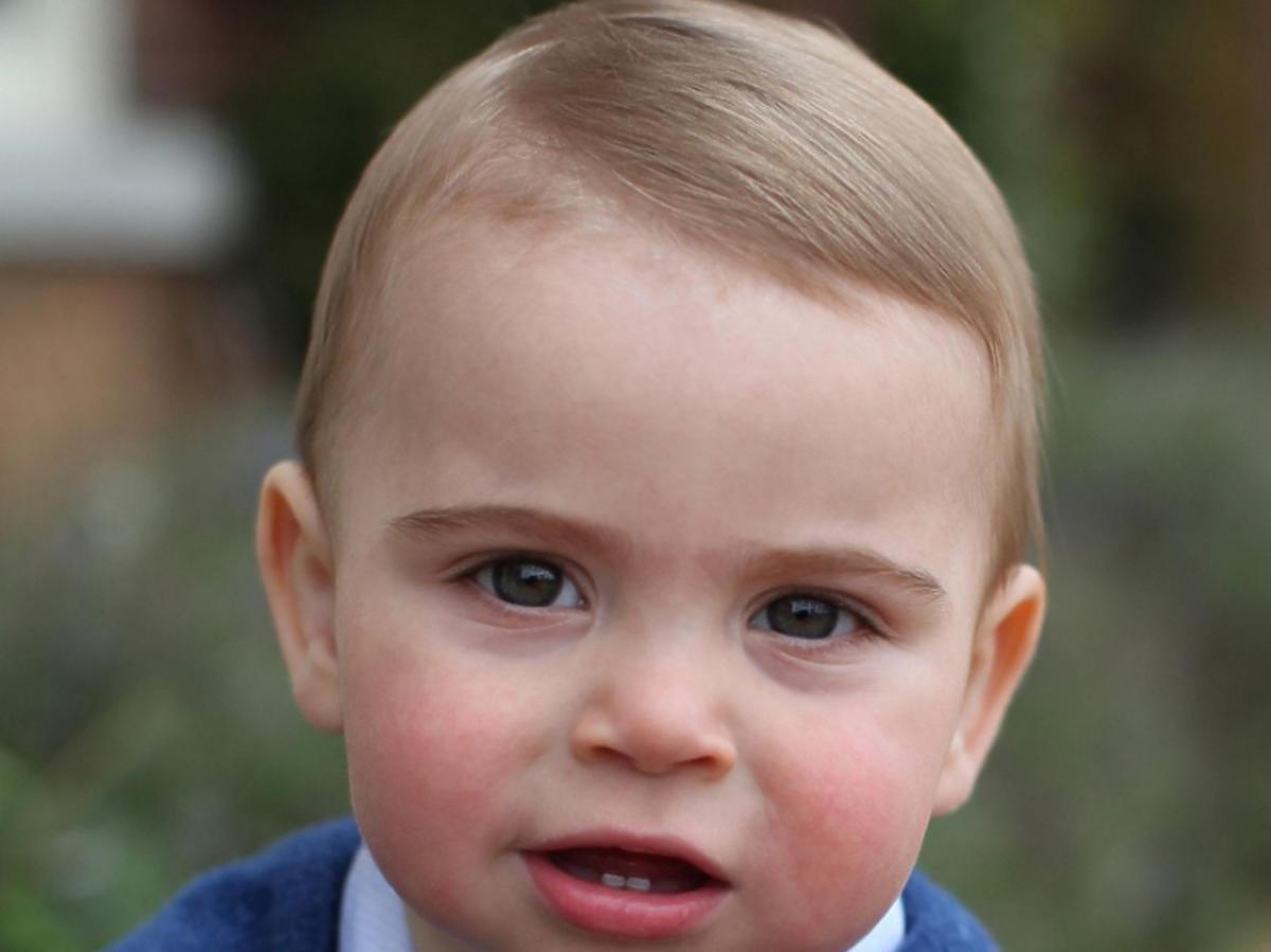 Oficjalna fotografia księcia Louisa