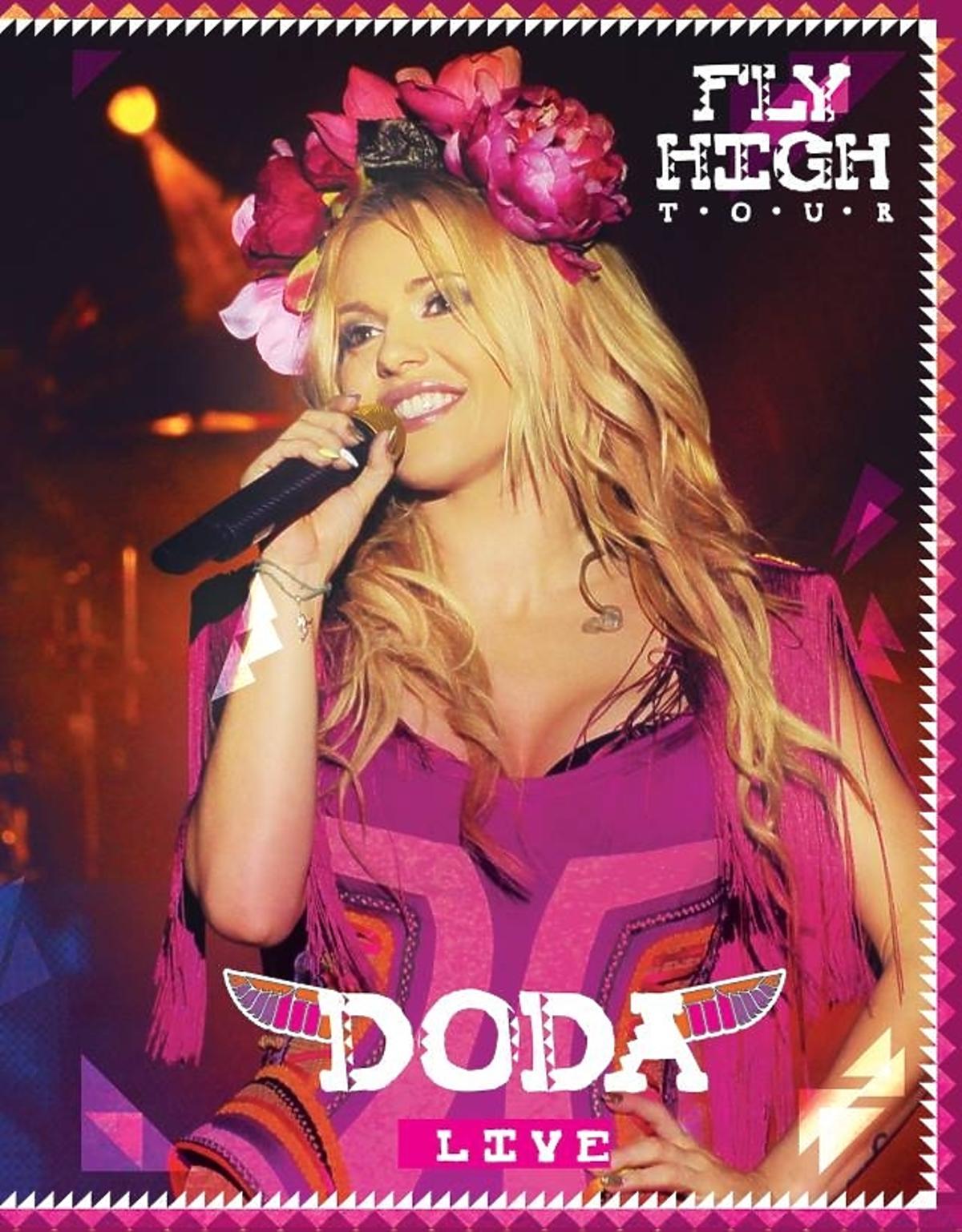 Okładka DVD Dody High Fly Tour