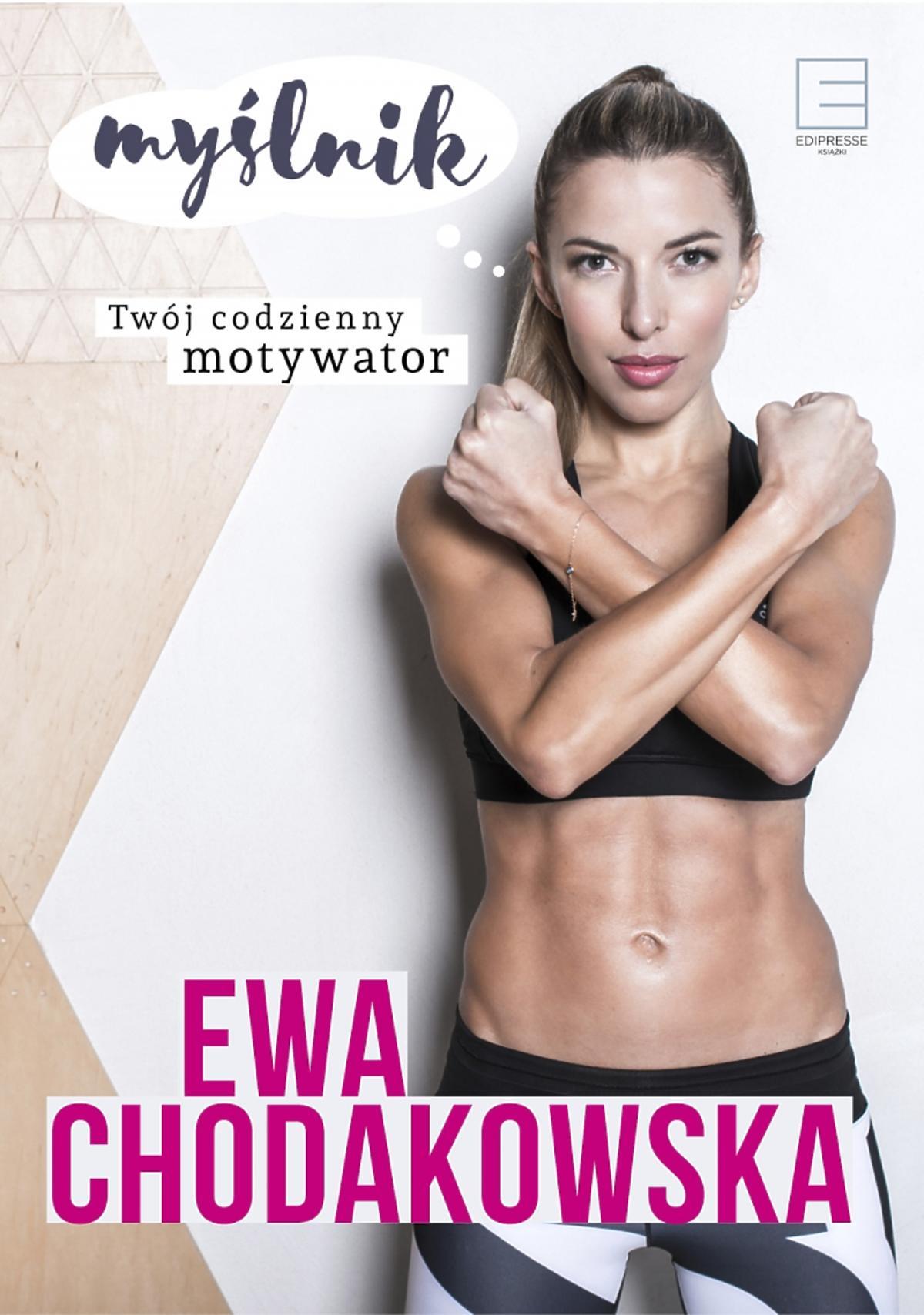 Okładka nowej książki Ewy Chodakowskiej - Myślnik