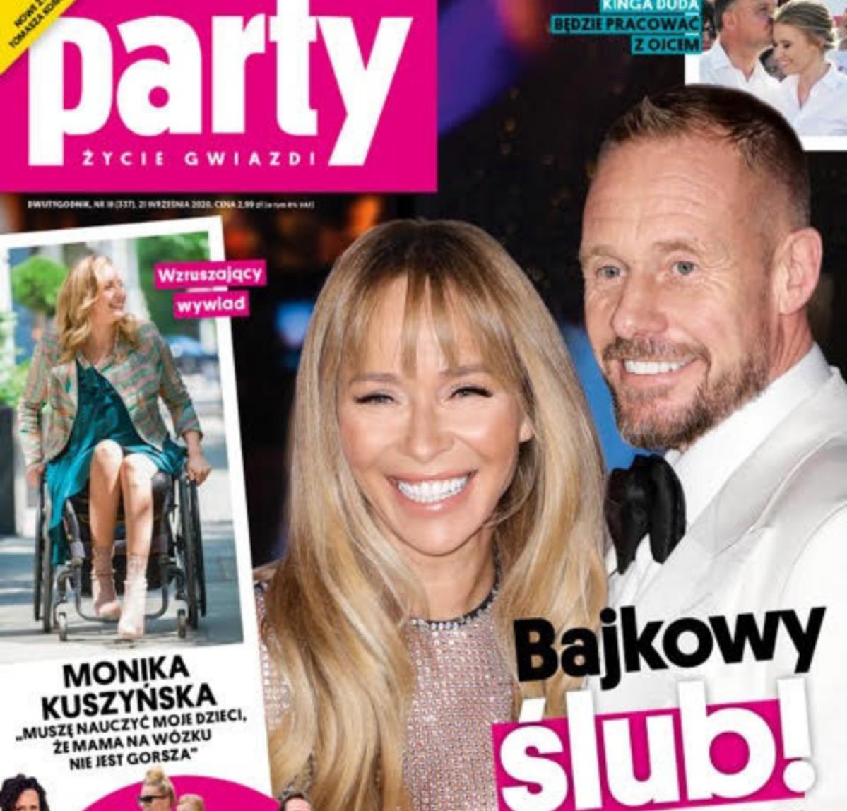 Okładka Party Joanna Przetakiewicz