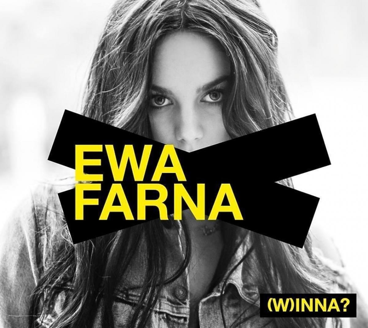 Okładka płyty Ewy Farnej