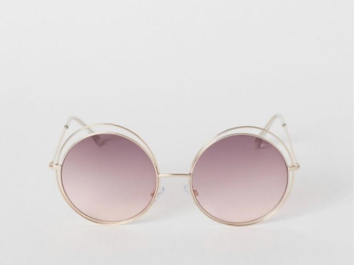 okrągłe okulary przeciw słoneczne z H&M