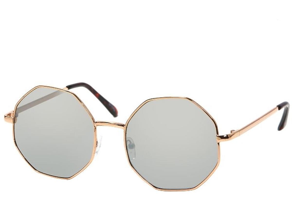 okrągłe okulary słoneczne z Sinsay