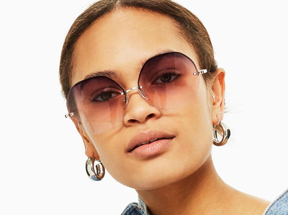 okrągłe okulary z Topshop