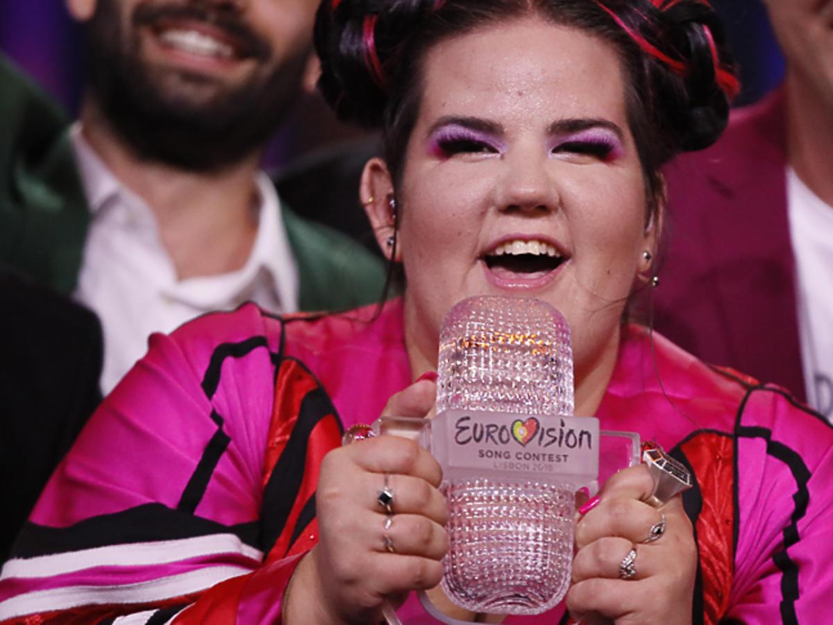 Okropny upadek Netty na Eurowizji 2018