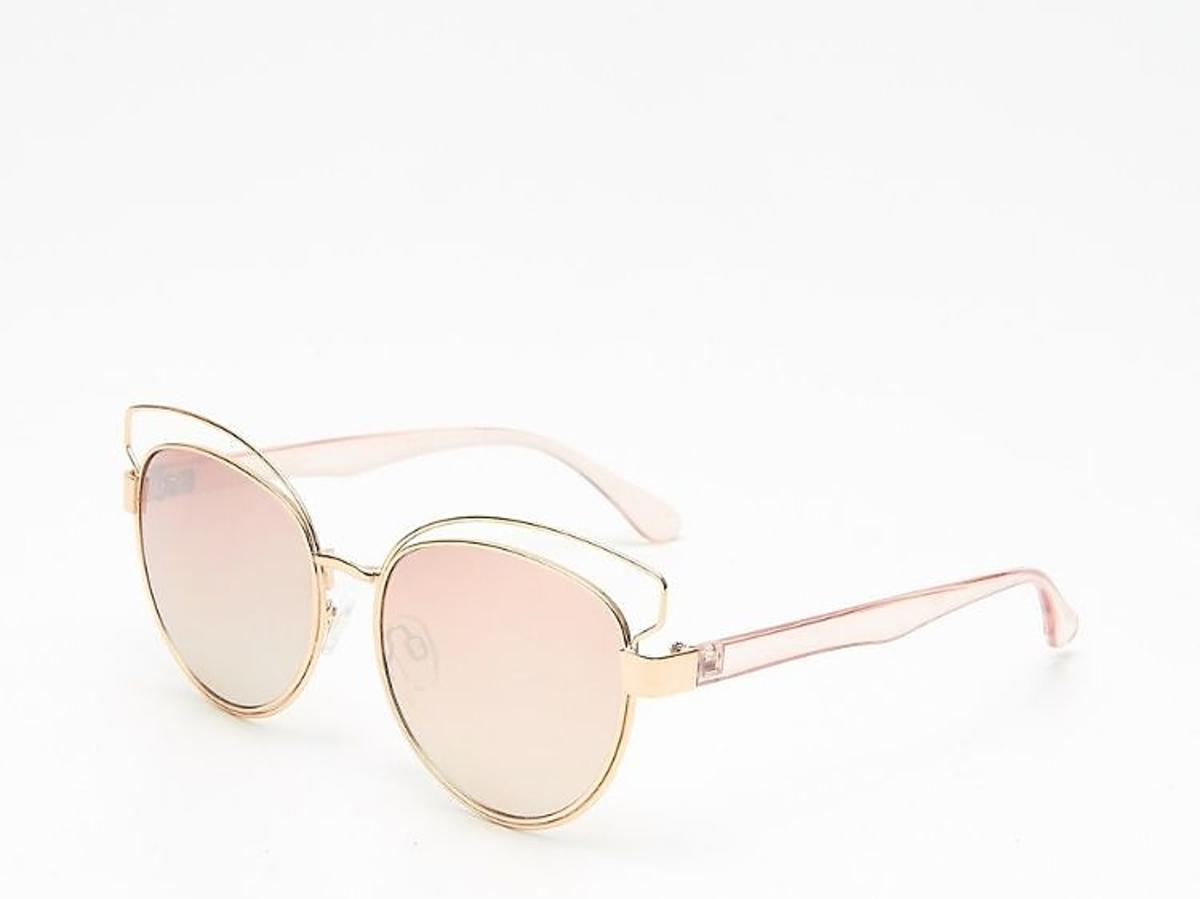 okulary słoneczne w metalowych oprawkach z House
