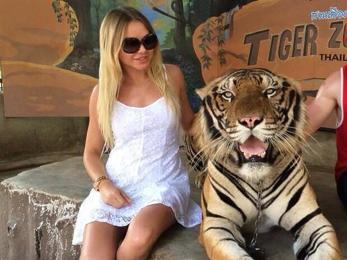 Ola Ciupa na wakacjach w Tajlandii