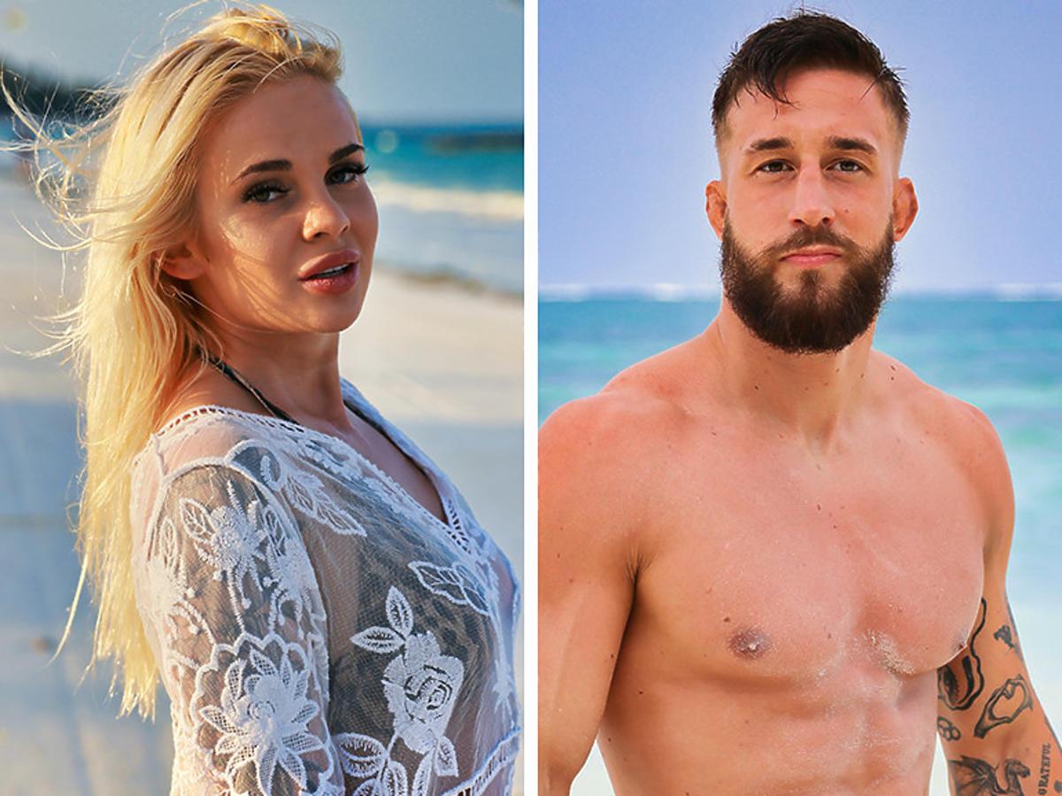 """Ola i Michał z """"Hotelu Paradise"""" na plaży"""