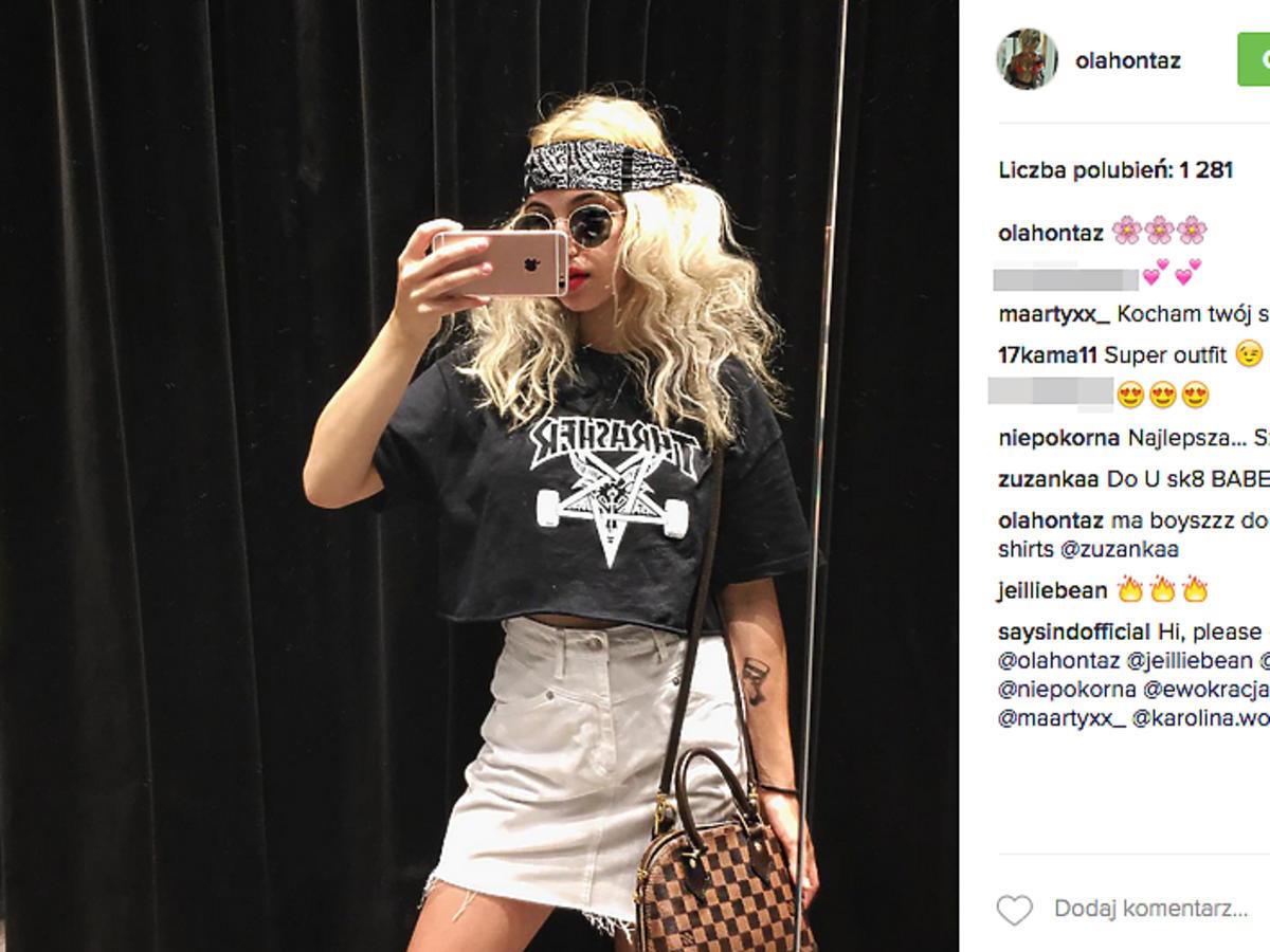 Ola Kowalska w blond włosach