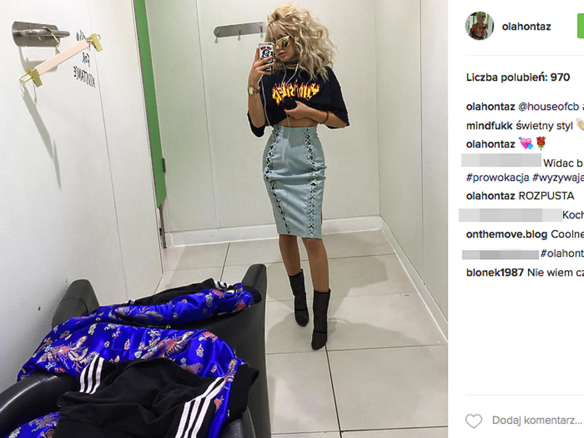 Ola Kowalska w ołówkowej spódnicy