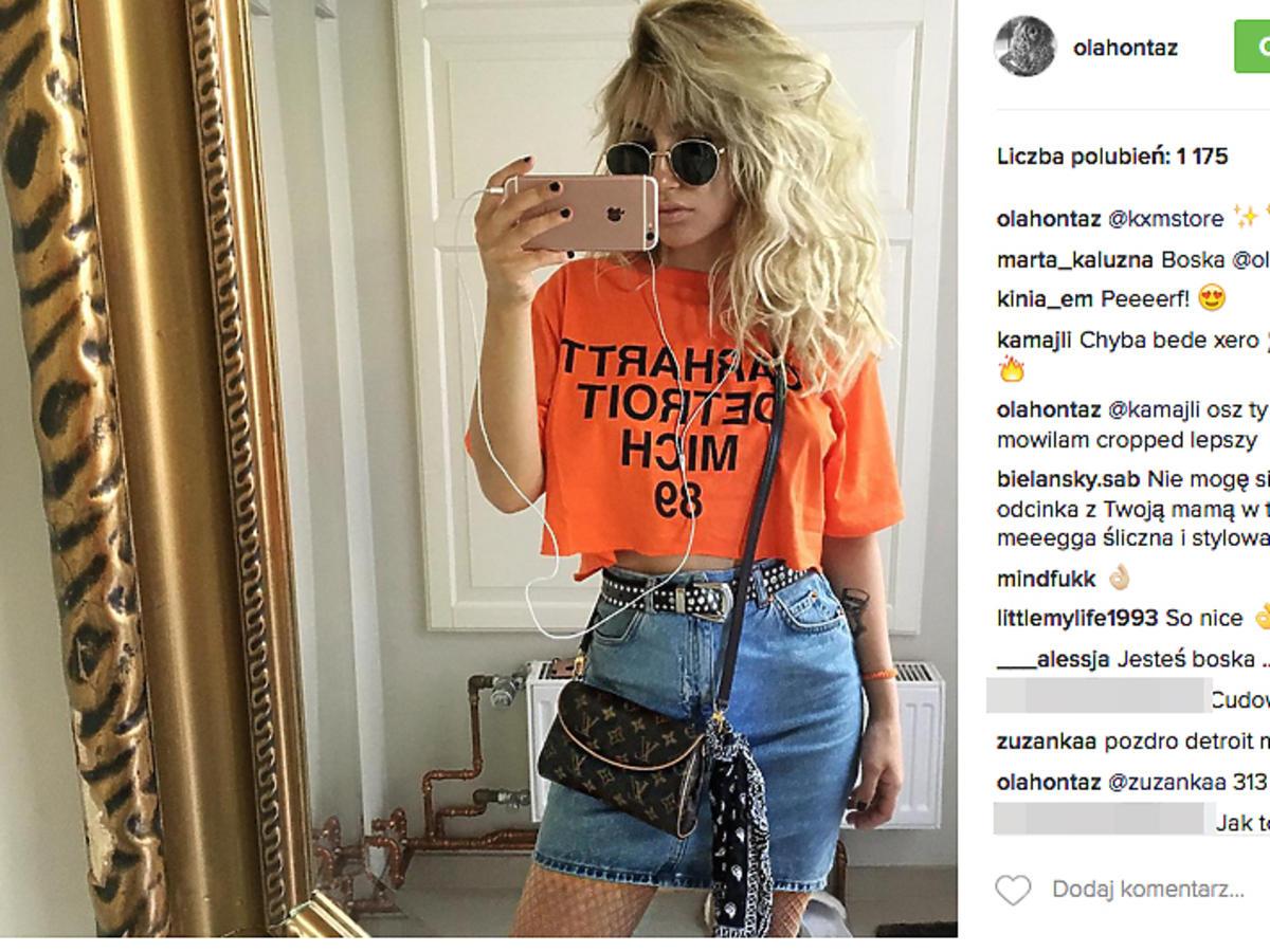 Ola Kowalska w pomarańczowej koszulce