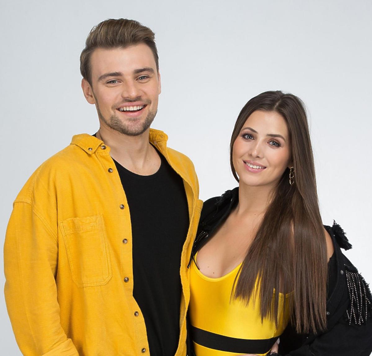 Ola Nowak i Damian Kordas, uczestnicy