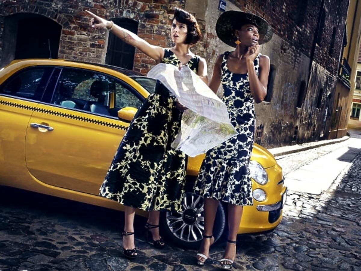 Ola Żuraw i Osi Ugonoh w sesji po włosku w Top Model