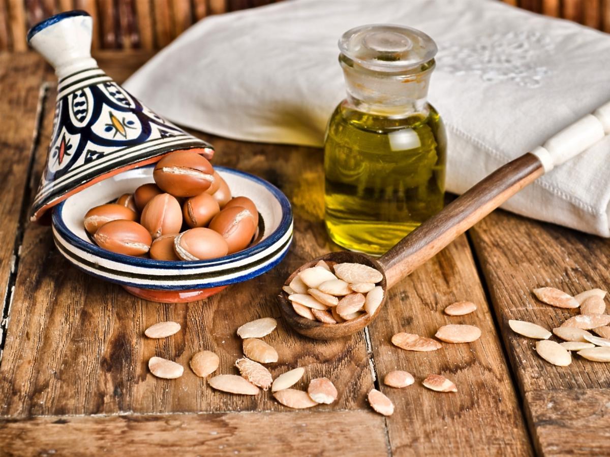 olej arganowy na włosy