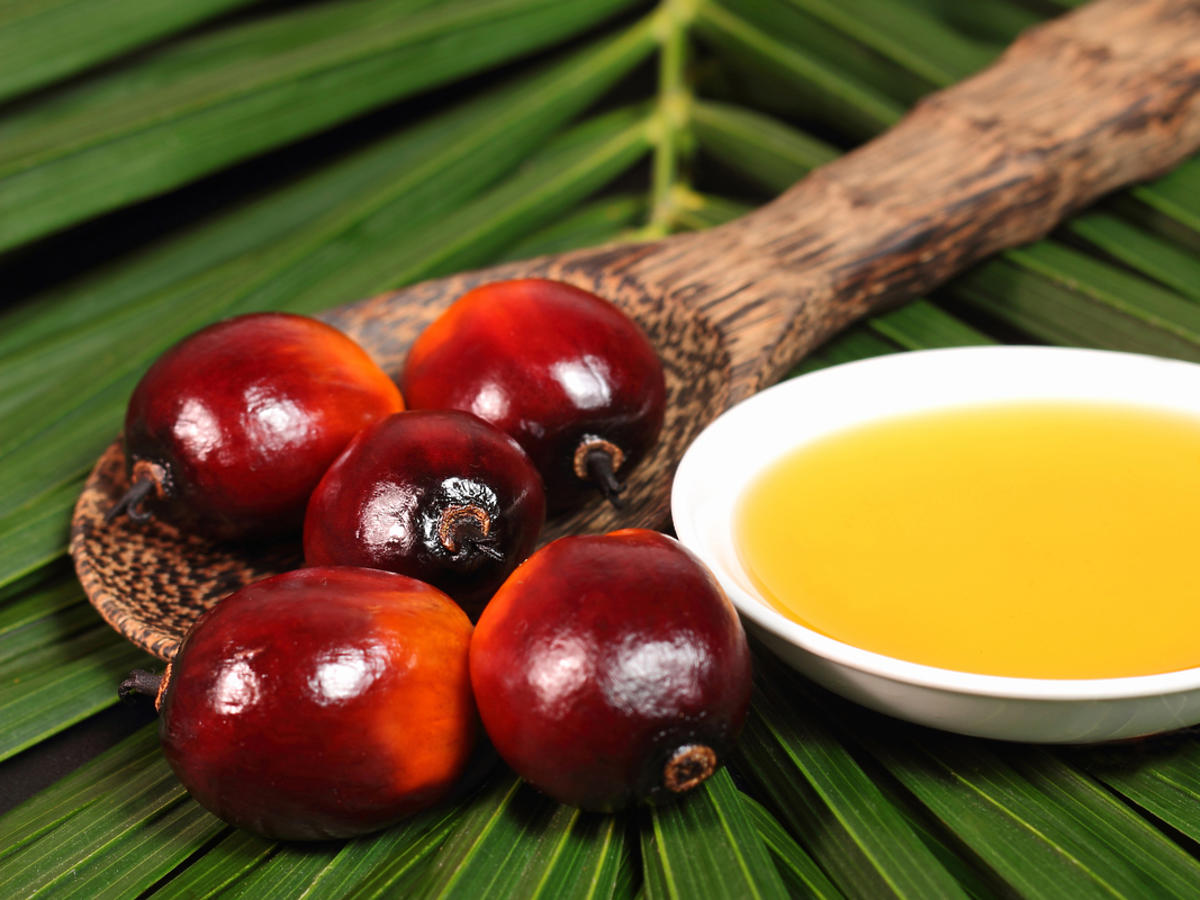 olej owocowy i owoce